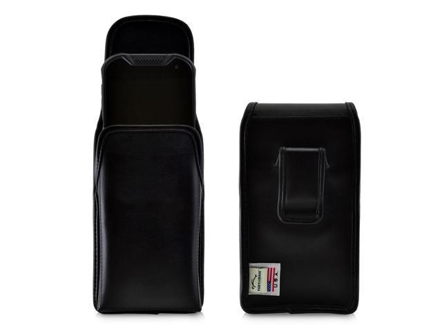 best service bed7d e4876 Kyocera DuraForce PRO 2 Holster Vertical Belt Case Black Leather Pouch Belt  Clip - Newegg.com