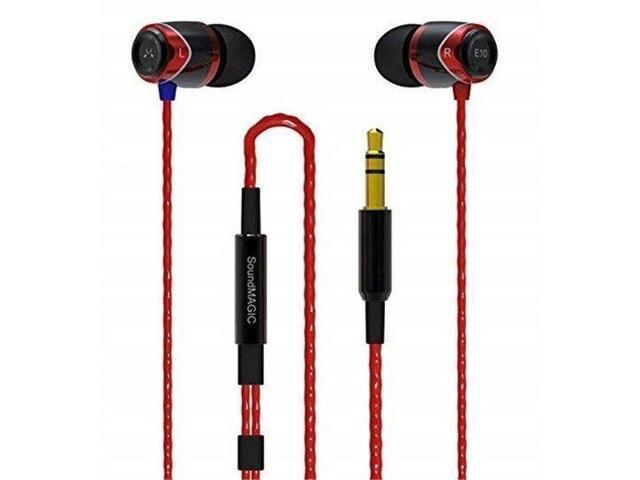 SoundMAGIC E10-Red Noise Isolating In-Ear Earphones (Red) - Newegg com