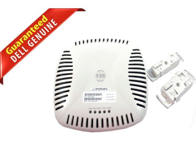 Lot of 5 Aruba AP-135 Wireless Access Points with Wall Mounts
