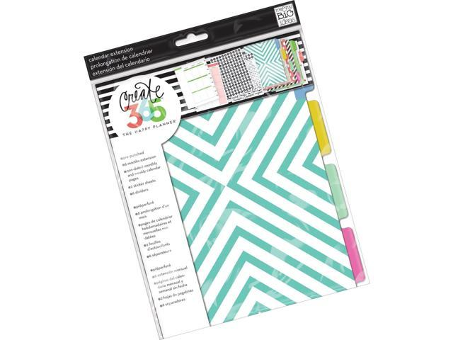 me & my BIG ideas Create 365 The Happy Planner Six Month Extension Pack  Green - Newegg com