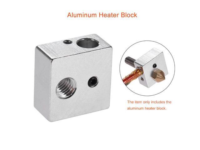 MK8 New Hot End Printers Heating Blocks Aluminum Heater Extruder Accessories