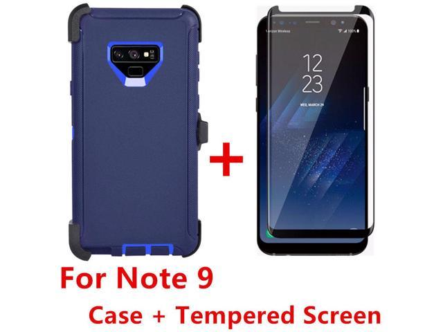 sports shoes 79756 ee9f0 For Samsung Galaxy Note 9 Case W/Screen(Clip Fits Otterbox Defender) NAVY -  Newegg.com