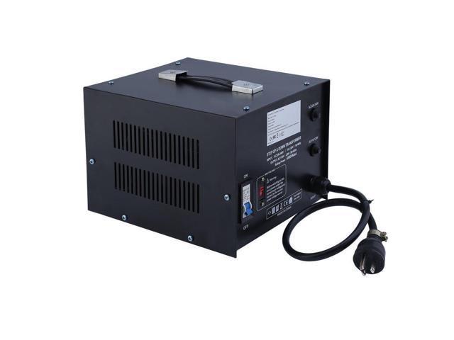 5000 Watt Voltage Converter Transformer Heavy Duty Step Down 5000W 110-220V B2