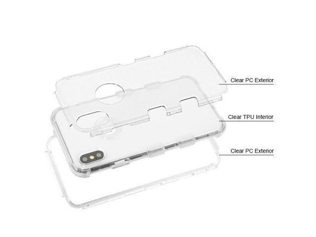 Clear Transparent Phone Case For Apple Iphone Xr Hybrid