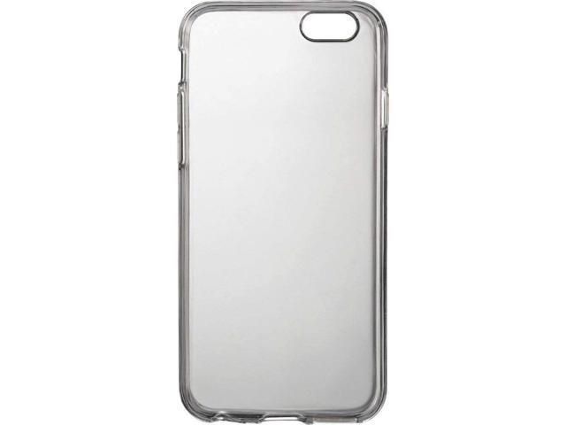 sale retailer acb0d 0117c NEW Insignia Soft Shell Case for iPhone 6/6s CLEAR Silicone NS-MA64STC  cover - Newegg.com