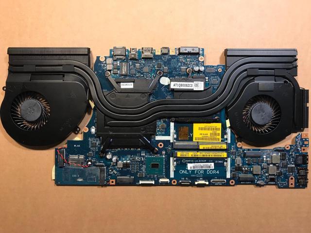 Dell Alienware 17 R4 Motherboard Intel i7-6700HQ CPU Radeon RX470M 8GB  Graphic - Newegg com