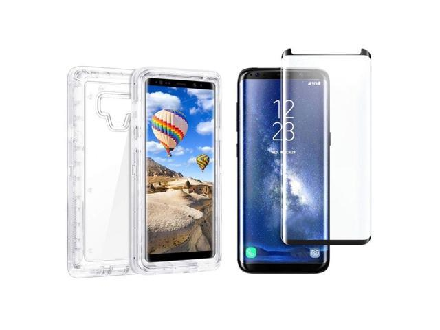 new product 51b10 83655 For Samsung Galaxy Note 9 Transparent Case W/Screen Fits Otterbox Defender  Clear - Newegg.com