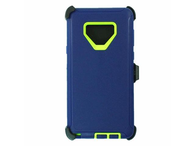 For Samsung Galaxy Note 9 Case Cover (Clip Fits Otterbox Defender) NAVY  GREEN - Newegg com