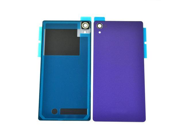 reputable site b6dc2 61f61 NEW PURPLE Back Battery Case Cover For Sony Xperia Z2 D6543 D6502 D6503  L50W US - Newegg.com