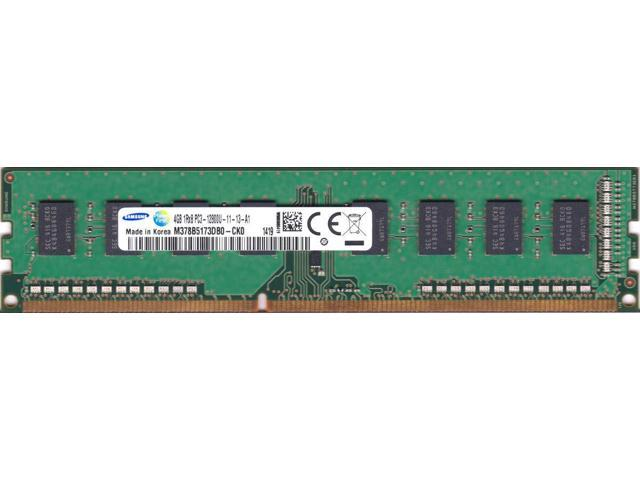 Samsung 4GB 1Rx8 PC3-12800U 1600MHZ DDR3 Desktop Memory