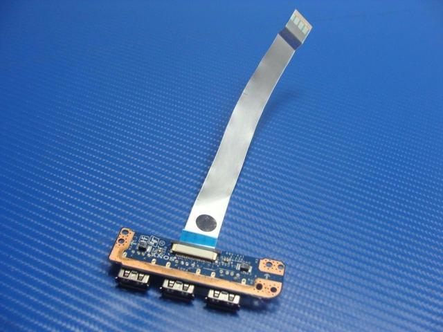 "Sony PCG-71913L 15.6/"" Genuine Laptop USB Board w// Cable DA0HK1TB6E0 33HK1UB0000"