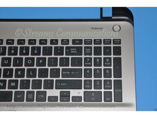 TOSHIBA Satellite L55t-B Series Laptop Palmrest w// Touchpad