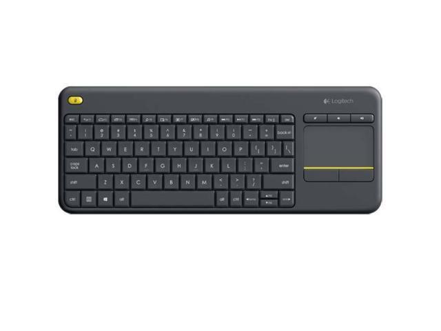 Logitech Keyboard 920-007119 Wireless Touch Keyboard K400 Plus HTPC  Keyboard - Newegg com