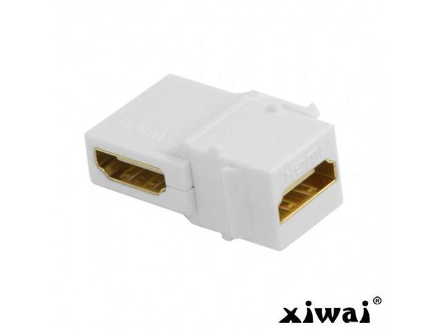 Black Gold Plated Pack o Female to Female iMBAPrice® HDMI Inline Coupler