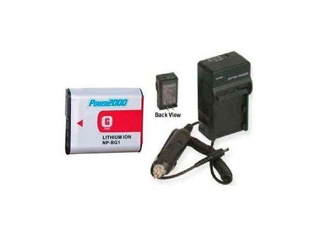 Battery + Charger for Sony DSC-W215, Sony DSC-W220, Sony DSC-W220/B, Sony  DSC-W220/L, Sony DSC-W230 - Newegg com