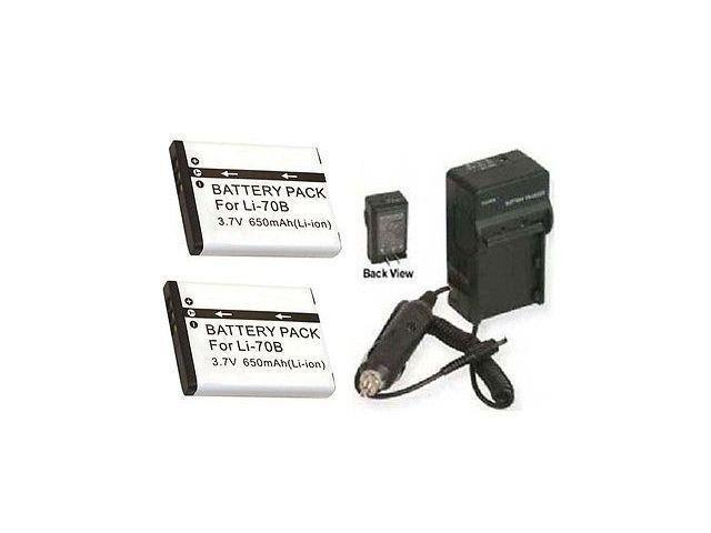 1A USB AC//DC Power Adapter Camera Battery Charger Cord Works with Olympus VG-140 VG140