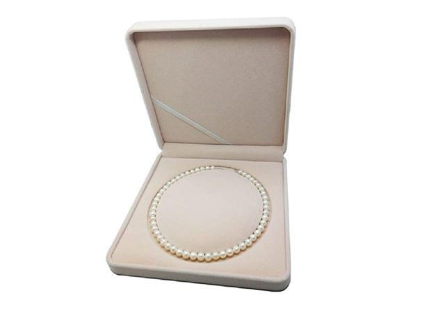Jewelry Set Velvet Box Necklace Earring Ring Necklace Bracelet Display Case