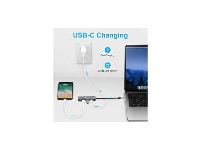 2021 Version USB C Hub for Nintendo Switch 4in1 USB C ...