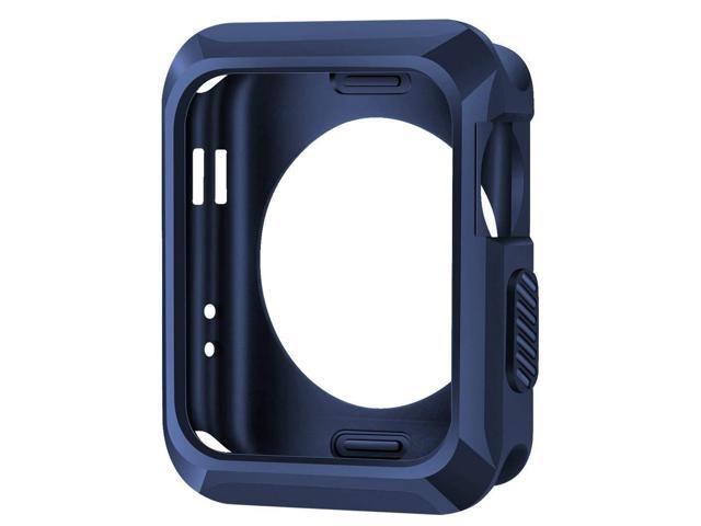 new concept b7854 87560 iiteeology Replacement for Apple Watch Case 42mm, Universal TPU Protective  Case for Apple iWatch Series 3 Series 2 Series 1 - Midnight Blue - ...