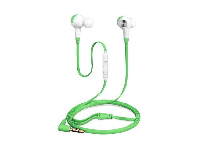 wired in ear headphones with mic and volume control bass earbuds for  sports, sweatproof,
