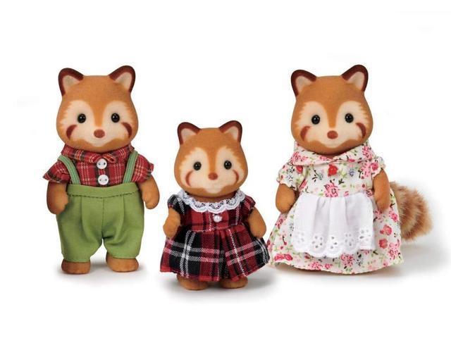 Calico Critters Red Panda Family - Newegg com