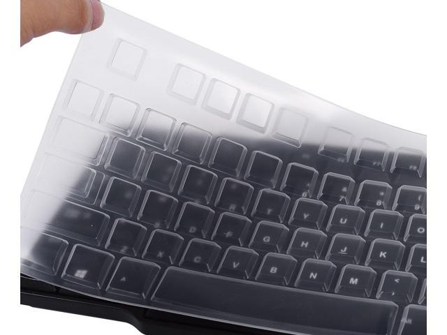 New Clear Silicone Keyboard Protector Cover Skin Guard for Logitech MK120 K120