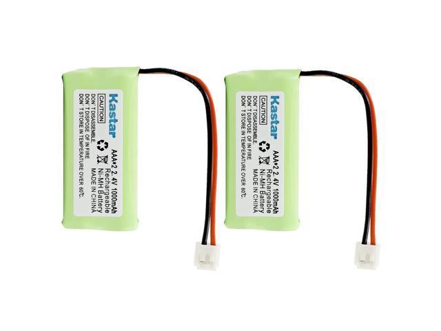 3-Pack, Bulk Packaging Replacement Battery for AT/&T BT8001 89-1344-01 89-1335-00 BT184342 BATT-6010 BT8000 BT284342 BT8300 CPH-515D