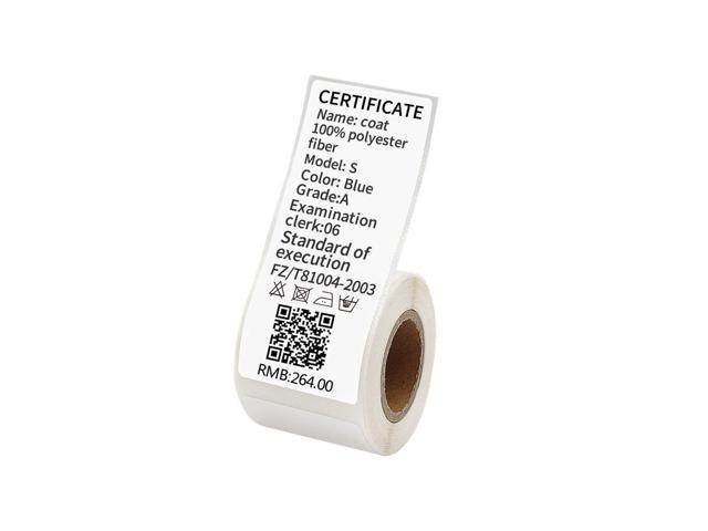JingChen Multi-purpose Self-adhesive Thermal Label Paper for JingChen B11  and B3 Portable Label Printer Roll of 100 Labe - Newegg com