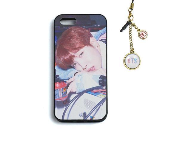 Fanstown Kpop BTS Bangtan Boys iPhone 5/5s/se case Love Yourself 承 HER +  Dust Plug Charm (F22) - Newegg com