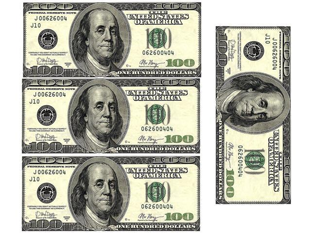 Edible 100 Dollar Bills Frosting Sheet  Real Looking Edible Money,Green -  Newegg com