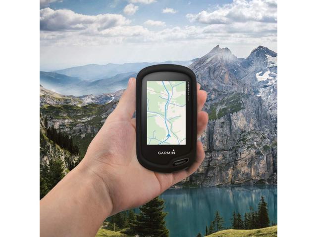 600//650 kwmobile Case for Garmin Oregon 700 750t GPS Handset Navigation System Soft Silicone Skin Protective Cover Blue