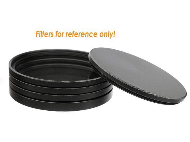 Slim Stack fits 49mm UV CPL Fader ND Filter Aluminum Alloy Fotasy 49mm Metal Filter Stack Caps Filter Stack 49mm