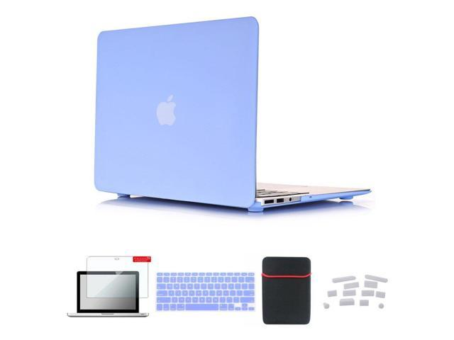 new arrival e7371 27983 Se7enline Macbook Pro 15 Case 5 in 1 Bundle Accessories Soft-Touch Matte  Plastic Hard Case for MacBook Pro Retina 15 A1398 with Sleeve Bag, Keyboard  ...