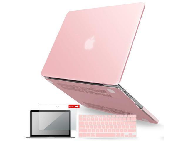 outlet store f8f84 1fdb9 IBENZER MacBook Pro 15 Inch Case 2012-2015, Soft Touch Hard Case Shell  Cover with Keyboard Cover Screen Protector for Apple MacBook Pro 15 with  Retina ...