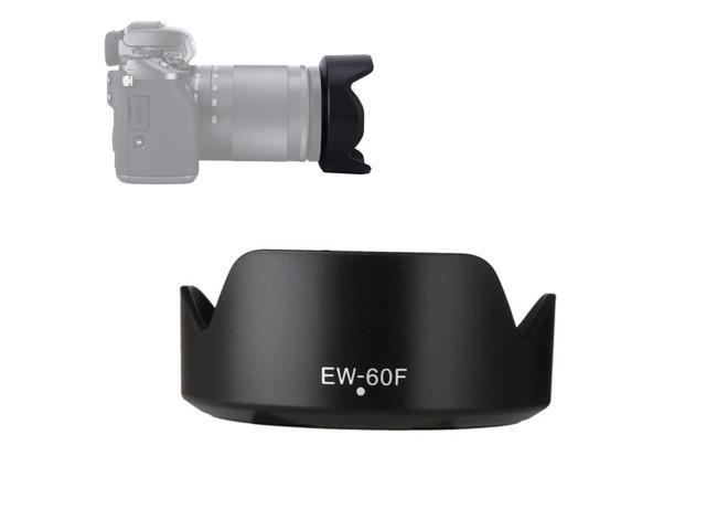 LXH Reversible Bayonet Mount Lens Hood Shade For Canon EF-M 18-150mm  f/3 5-6 3 IS STM Lens Replaces Canon EW-60F, Fit Canon M100 M10 M6 M5 M3 M2  M1 M