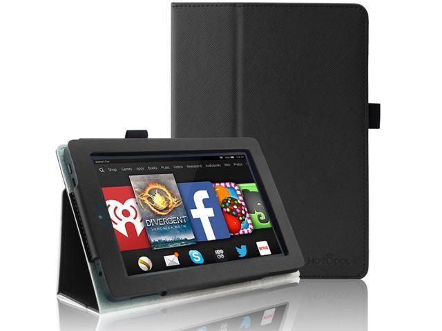 Kindle Fire HD 7 2014 Tablet Case - HOTCOOL Slim Folding Stand Cover For  Amazon Kindle Fire HD 7 (Previous 4th Generation 2014), Black - Newegg com