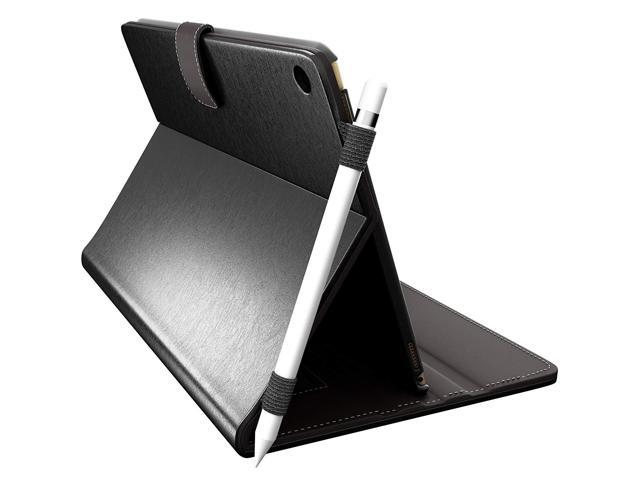 new styles a67be 9d08a CUVR PREVENT PROTECT iPad Pro 10.5 Case Cover with Pencil Holder - Smart  Folio for 10.5-inch Apple (Black) - Newegg.com