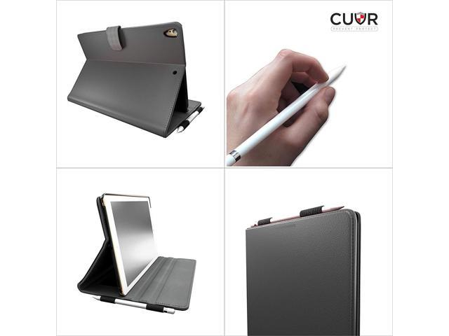 new styles 7d6ba c9962 CUVR PREVENT PROTECT iPad Pro 10.5 Case Cover with Pencil Holder - Smart  Folio for 10.5-inch Apple (Black) - Newegg.com