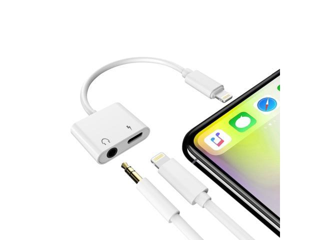 half off 96879 98779 iPhone Headphone Jack Adapter, Micar 3.5 mm Audio+Charge, Lightning to  3.5mm Aux Headphone Jack Adapter with Lightning Port for iPhone X, iPhone  8, 8 ...