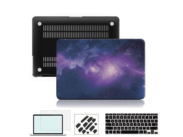 RYGOU MacBook Pro 13 inch Case 2018 2017 2016 Release A1706/1989 with Touch  Bar Model,Plastic Hard Shell Cover and Keyboard Skin Screen Protector
