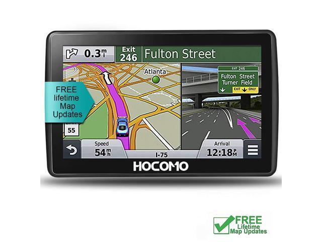 Car GPS Navigation, 7 Inch HD Touch Screen & 8G-256MB Memory