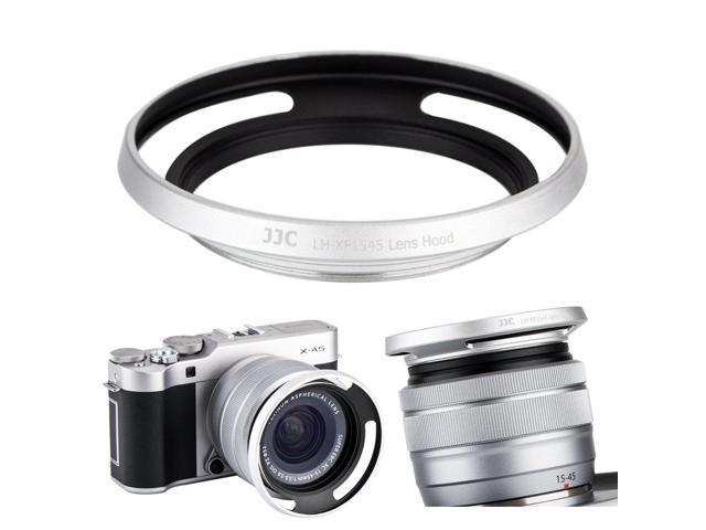 Pro Metal Lens Hood for Fuji XF 15-45mm f3.5-5.6 OIS PZ Black Fujifilm