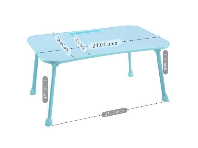 Awesome Large Bed Tray Nnewvante Multifunction Laptop Desk Lap Desk Foldable Portable Standing Outdoor Camping Table Breakfast Reading Tray Holder For Couch Uwap Interior Chair Design Uwaporg