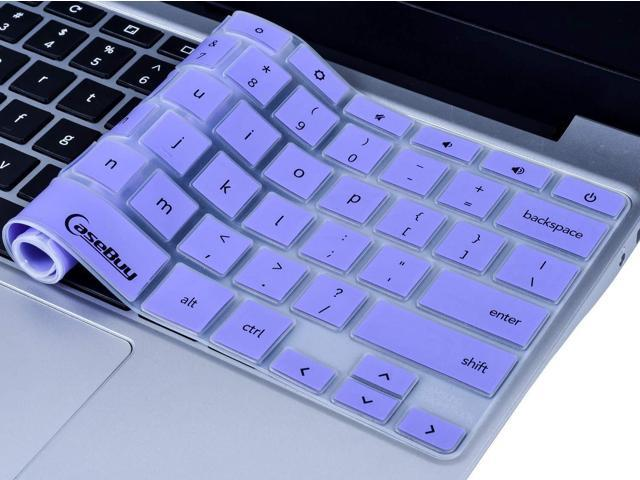 Keyboard Cover Skin Compatible 2019/2018/2017 Samsung Chromebook 3 XE500C13  XE501C13 11 6 inch/Samsung Chromebook Plus V2 2-in-1 XE520QAB 12 2