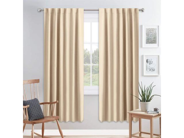 Pony Dance Living Room Curtains Window Treatments Blackout Curtain Panels Back Tab Rod Pocket Draperies Energy Saving D For Dining W