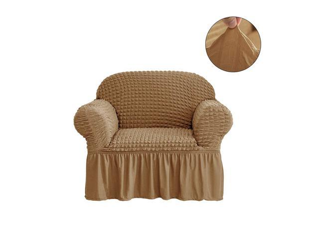 Pleasant Chun Yi 1 Piece All Purpose Universal Easy Fitted Armchair Sofa Couch Cover Stretchable High Elasticity Durable Furniture Protector Arm Chair Theyellowbook Wood Chair Design Ideas Theyellowbookinfo