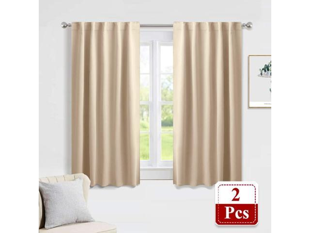 Pony Dance Beige Blackout Curtains