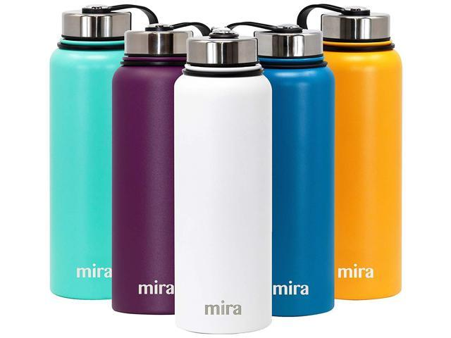 ddd17373296c MIRA 40 Oz Stainless Steel Vacuum Insulated Wide Mouth Water Bottle |  Thermos Keeps Cold for 24 hours, Hot for 12 hours | Double Walled Powder  Coated ...