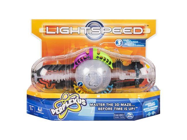 Perplexus Light Speed Game, 3D Brain Teaser Maze with Lights and Sounds for  Kids Aged 7 and Up - Newegg com