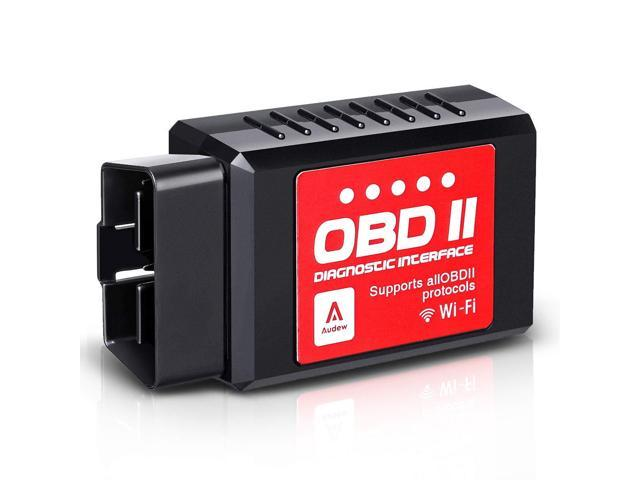 Audew Car WiFi OBDII Reader/Scanner,Wireless OBD2 Car Code Reader Scan Tool  for iOS,Android and Windows Devices,Scanner Adapter Check Engine